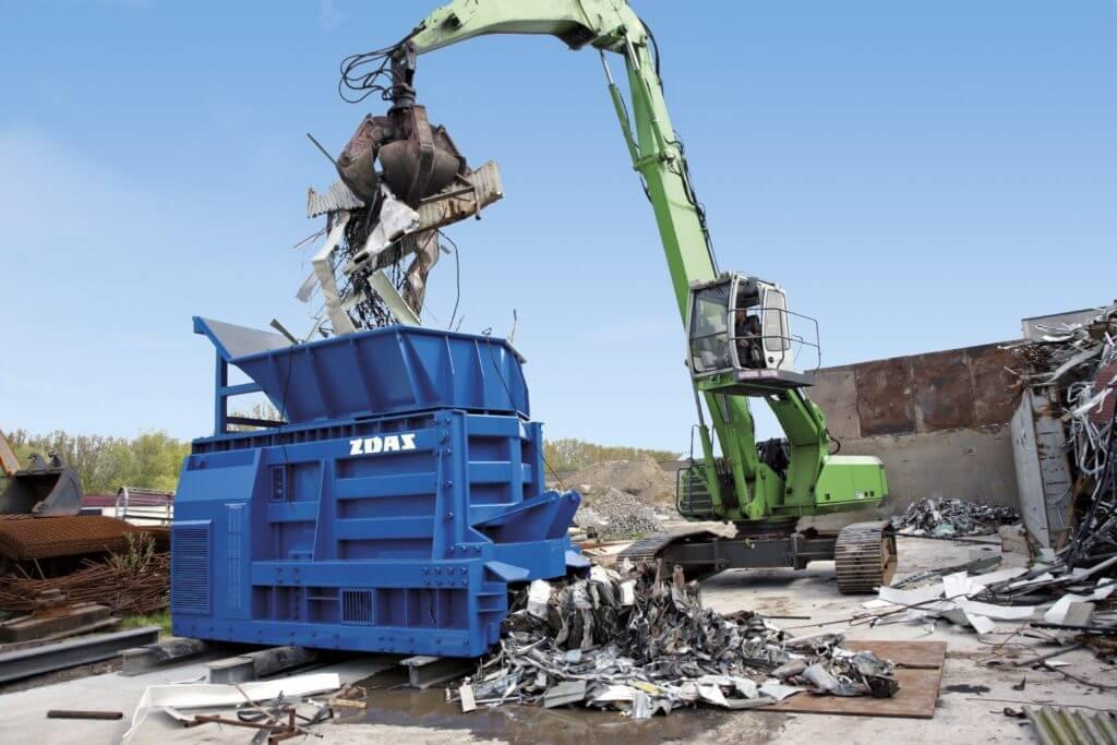 Impianti trattamento rottami metallici